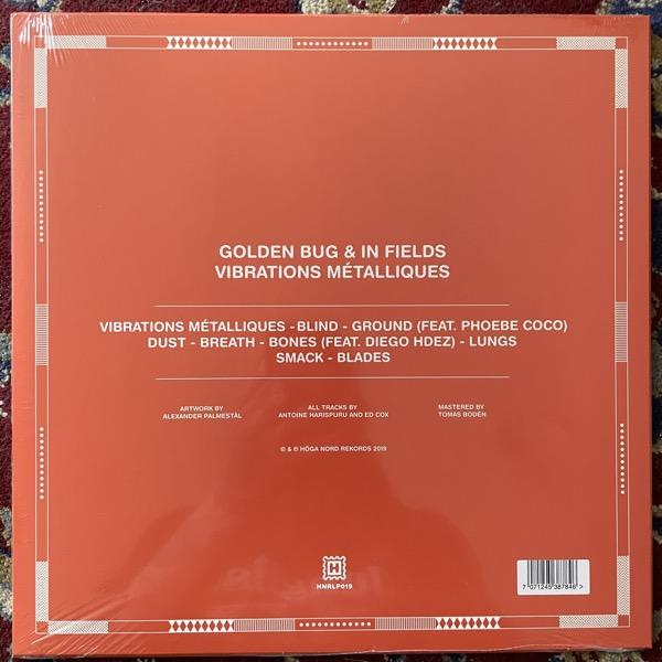 GOLDEN BUG & IN FIELDS Vibrations Métalliques (Höga Nord - Sweden original) (SS) LP