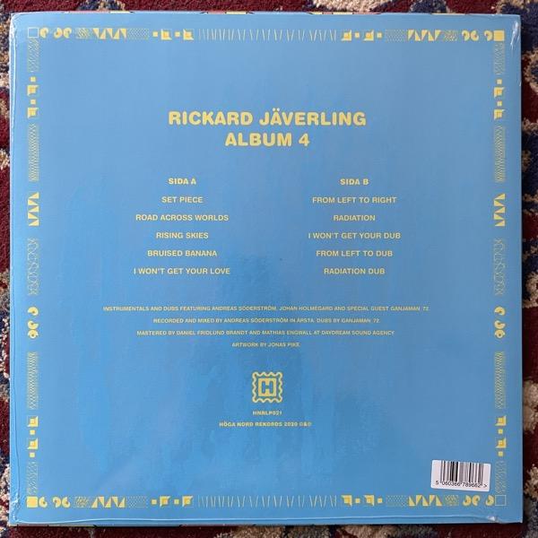 RICKARD JÄVERLING Album 4 (Höga Nord - Sweden original) (SS) LP