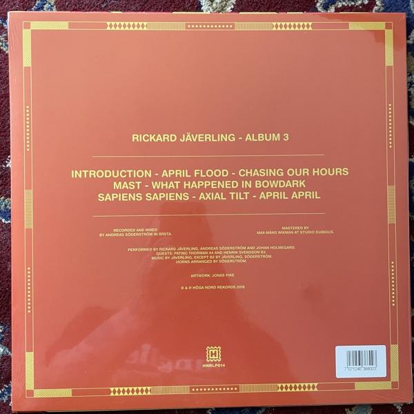 RICKARD JÄVERLING Album 3 (Höga Nord - Sweden original) (SS) LP