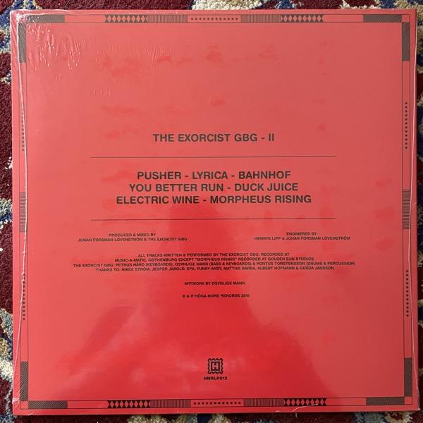 EXORCIST GBG, the II (Höga Nord - Sweden original) (SS) LP