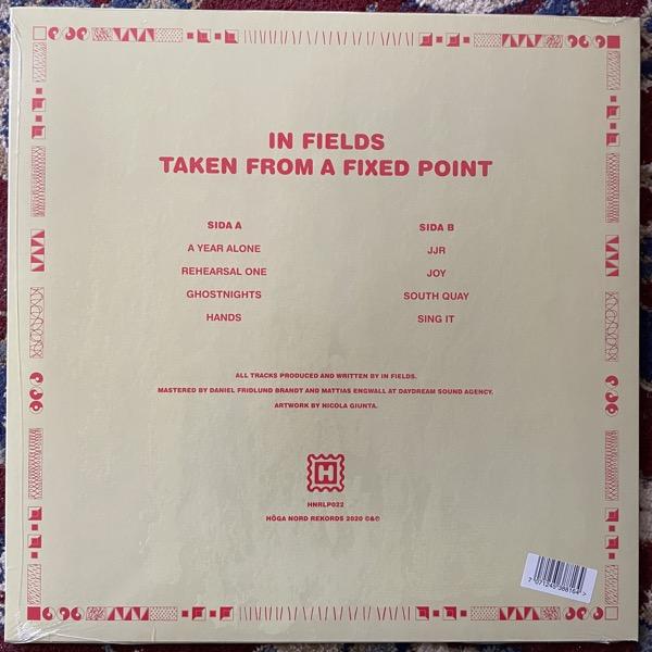 IN FIELDS Taken From A Fixed Point (Höga Nord - Sweden original) (SS) LP