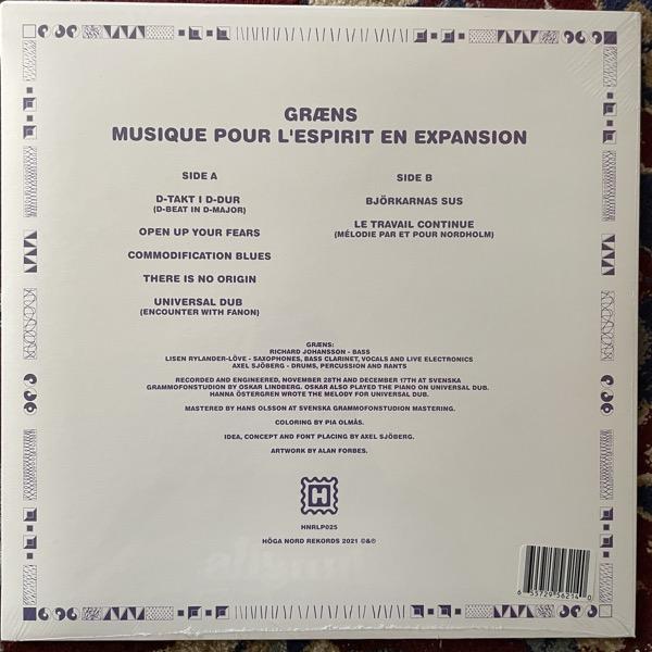 GRÆNS Musique Pour L'Esprit En Expansion (Höga Nord - Sweden original) (SS) LP