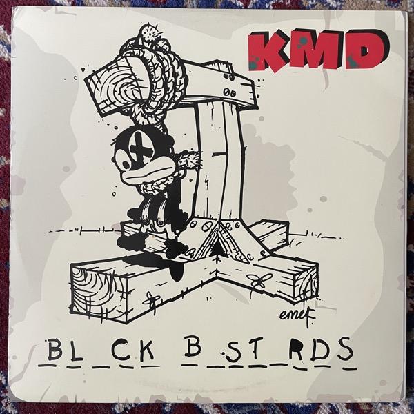 KMD Bl_ck B_st_rds (Sub Verse - USA early reissue) (VG+/EX) 2LP