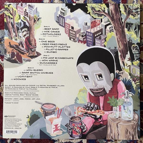 MF DOOM MM..Food (Rhymesayers - USA 2007 reissue) (EX) 2LP