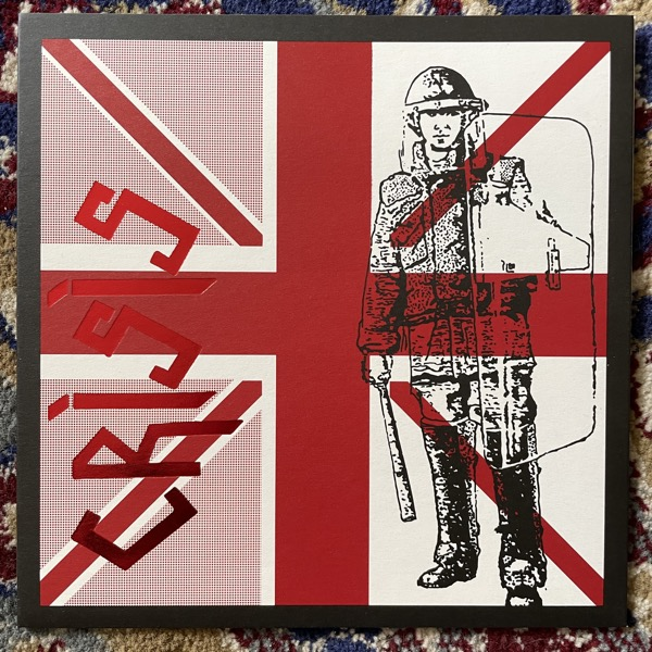 """CRISIS UK '79 (Red vinyl) (Extremocidente - Portugal reissue) (NM) 7"""""""