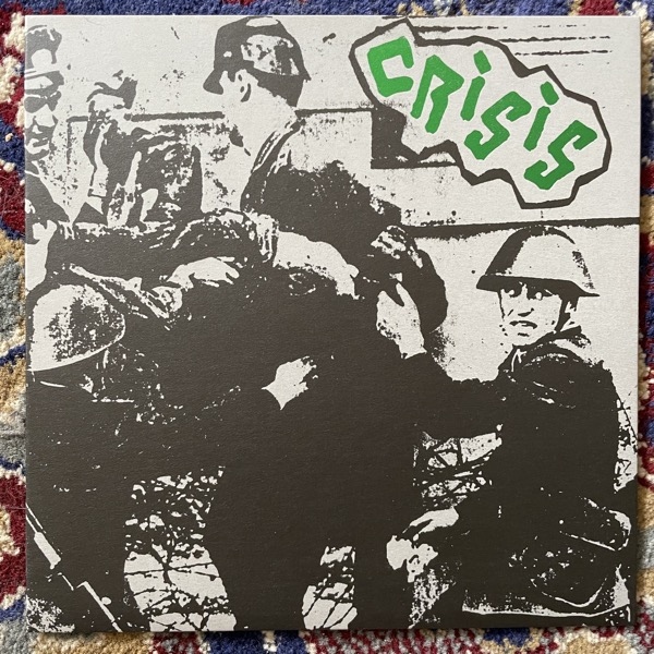"""CRISIS Alienation (Clear vinyl) (Extremocidente - Portugal reissue) (NM) 7"""""""