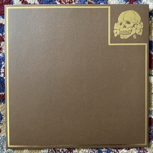 """DEATH IN JUNE State Laughter (Brown vinyl) (Extremocidente - Portugal reissue) (NM) 7"""""""