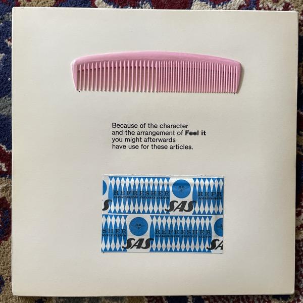 "RALPH LUNDSTEN, LEO NILSON Feel It. Exhibition Edition (Andromeda - Sweden original) (VG+) 7""+BOOKLET"