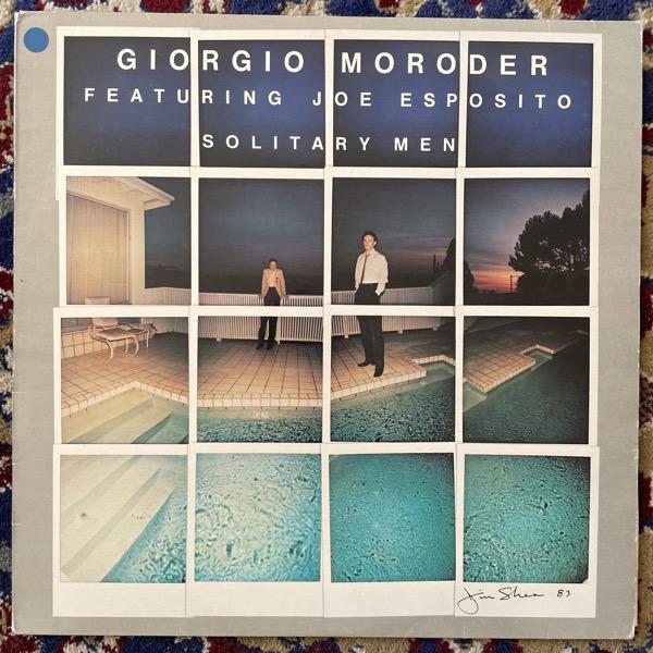 GIORGIO MORODER & JOE ESPOSITO Solitary Men (TMC - Scandinavia original) (VG+) LP