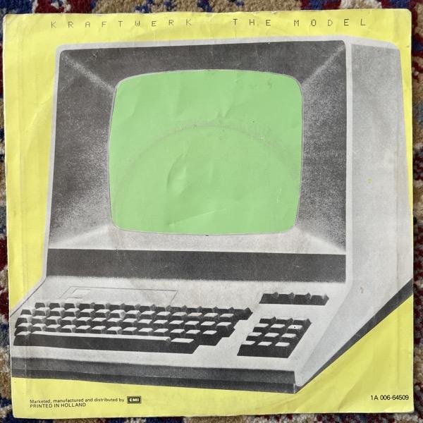 "KRAFTWERK The Model (EMI - Holland original) (VG) 7"""