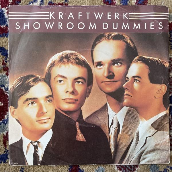 """KRAFTWERK Showroom Dummies (EMI - UK original) (VG) 7"""""""