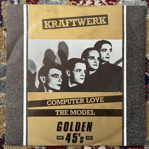 "KRAFTWERK Computer Love / The Model (EMI - UK 1984 reissue) (VG+) 7"""