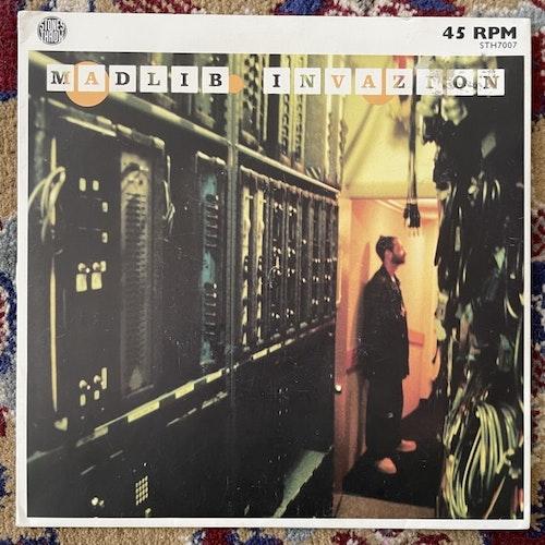 """MADLIB Madlib Invazion (Stones Throw - USA original) (VG+/VG) 7"""""""