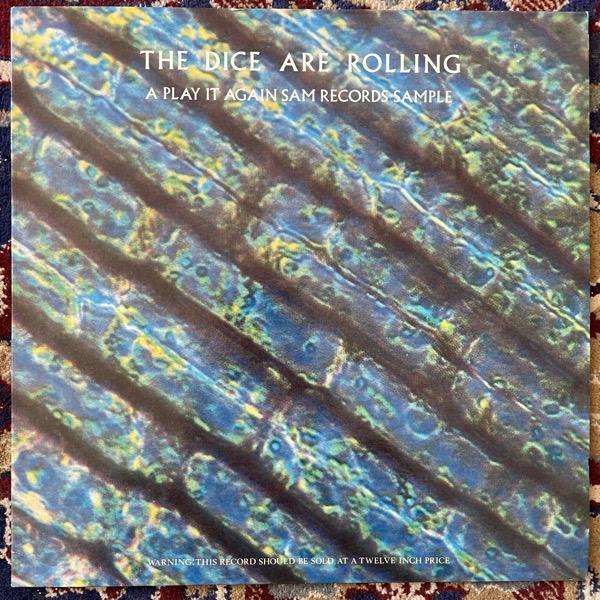 VARIOUS The Dice Are Rolling (A Play It Again Sam Records Sample) (Play It Again Sam - Belgium original) (VG+/EX) LP