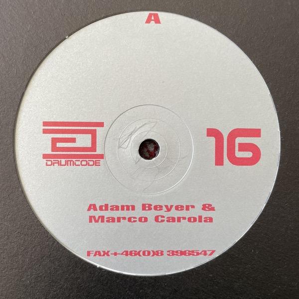 "ADAM BEYER & MARCO CAROLA Drumcode 16 (Drumcode - Sweden original) (VG+) 12"""