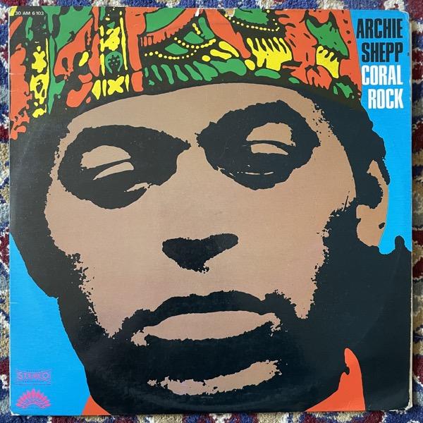 ARCHIE SHEPP Coral Rock (America - France original) (VG/VG+) LP