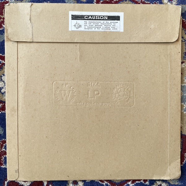 "CAUSTIC WINDOW Joyrex J9 EP (Rephlex - UK original) (G/VG) 12"""