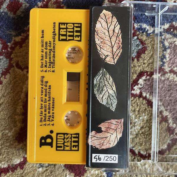 BÄDDAT FÖR TRUBBEL Två Sjundedelar Av Ett Liv (Yellow tape) (Ljudkassett! - Sweden original) (NM) TAPE