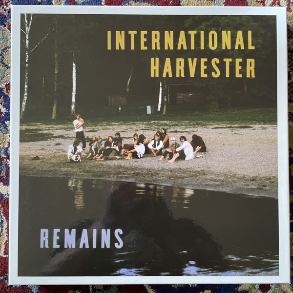 INTERNATIONAL HARVESTER Remains (Silence - Sweden original) (NM) 5LP BOX