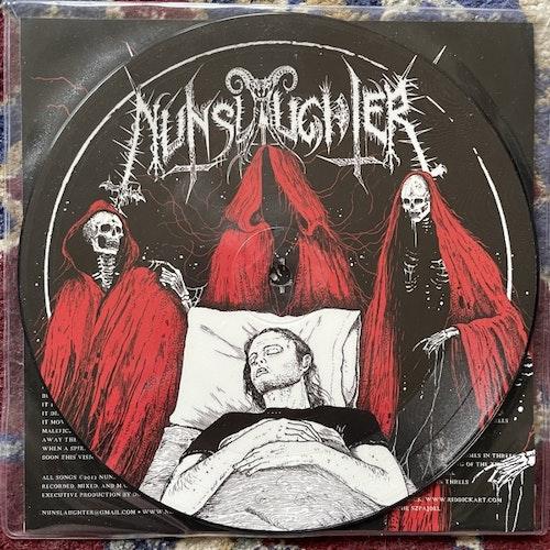 "NUNSLAUGHTER / UNBURIED Split (Doomentia - Czech Republic original) (EX) PIC 7"""