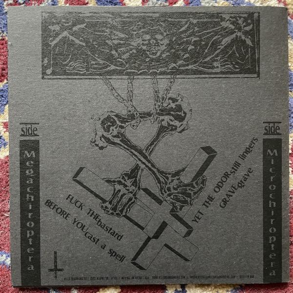 "NUNSLAUGHTER Black (Hells Headbangers - USA original) (NM/EX) 7"""