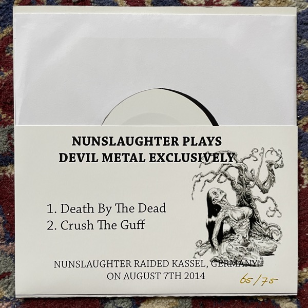"""NUNSLAUGHTER Raiding The Convent In Germany - Vol. One (Supposed To Rot - Germany original) (EX) 7"""""""