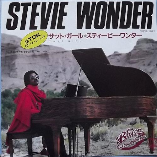 "STEVIE WONDER That Girl (Motown - Japan original) (EX) 7"""