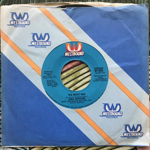 "KING ERRISSON The Magic Man (Westbound - USA original) (VG+) 7"""