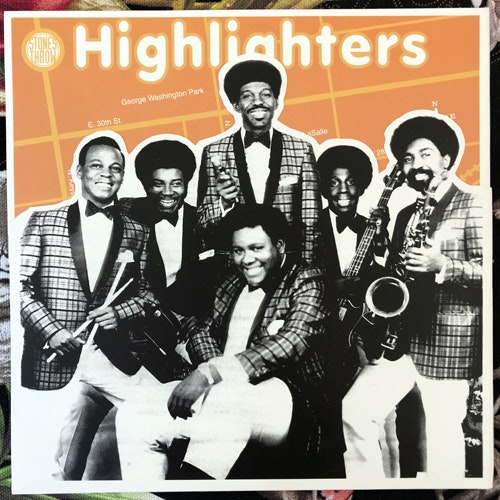 """HIGHLIGHTERS BAND, the Poppin' Pop Corn (Stones Throw - USA reissue) (EX/VG+) 7"""""""