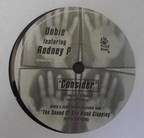 "DOBIE / HAL WILNER Consider (Promo) (Pussyfoot - UK original) (EX) 7"""