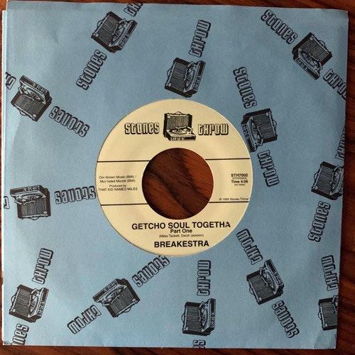 """BREAKESTRA Getcho Soul Togetha (Stones Throw - USA original) (EX) 7"""""""