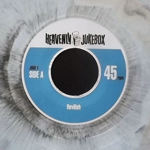 "VARIOUS Devilish (Grey marbled vinyl) (Heavenly Jukebox - UK original) (EX) 7"""