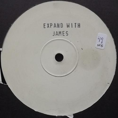 "UNKNOWN ARTIST Expand With James (Rapina - UK original) (VG+) 12"""
