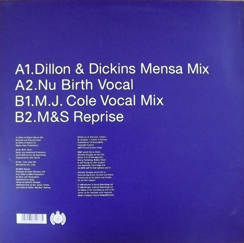"""STATE OF MIND This Is It > Pt.2 (Ministry of Sound - UK original) (EX) 12"""" EP"""
