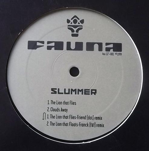 """SLUMMER The Lion That Flies (Flora & Fauna - Sweden original) (VG+) 12"""""""