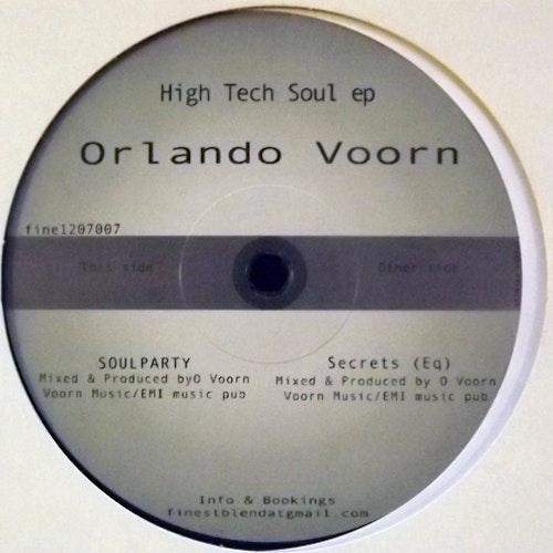 "ORLANDO VOORN High Tech Soul EP (Finest Blend - Sweden original) (NM) 12"" EP"