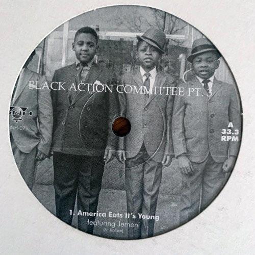 "NICK HOLDER Black Action Committee Pt. 3 (DNH - Canada original) (EX) 12"""