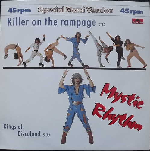 """MYSTIC RHYTHM Killer On The Rampage (Polydor - Germany original) (EX) 12"""""""