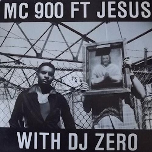 """MC 900 FT JESUS WITH DJ ZERO Too Bad (Nettwerk - Holland original) (EX) 12"""" EP"""