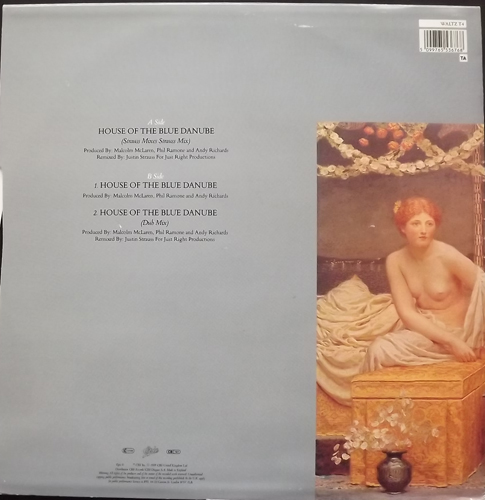 "MALCOLM MCLAREN House Of The Blue Danube (Epic - UK original) (VG+) 12"""