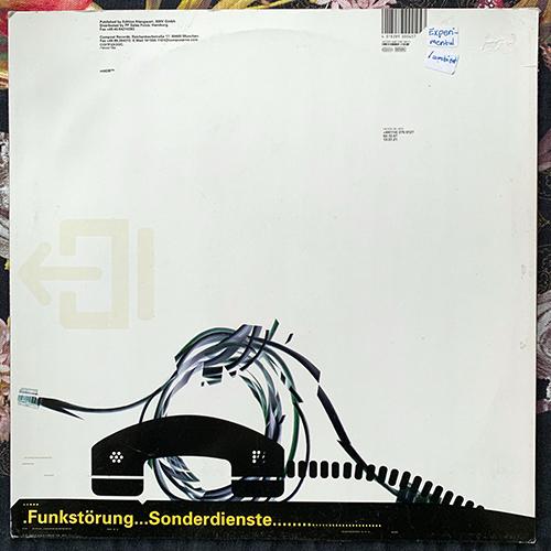 """FUNKSTÖRUNG Sonderdienste (Compost - Germany original) (VG+) 12"""""""