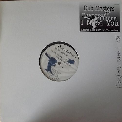 "DUB MASTERS, the Psychopath (Damaged Goods - UK original) (EX) 12"" EP"