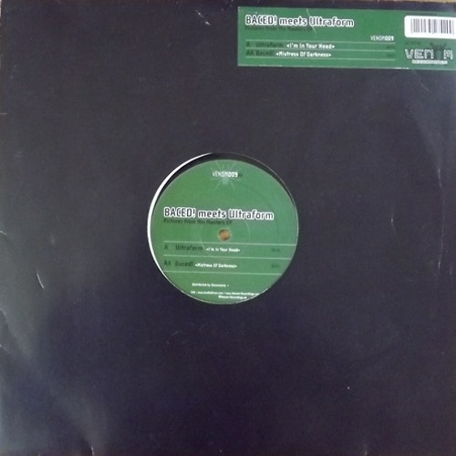 """BACED! MEETS ULTRAFORM Pictures From The Masters EP (Venom - Germany original) (EX) 12"""""""