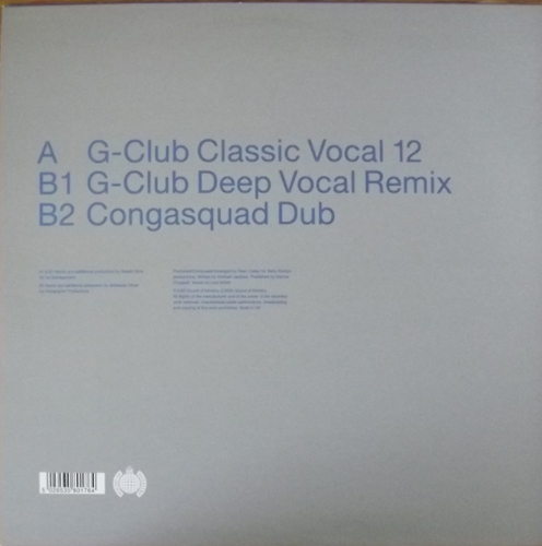 """BABY BUMPS I Got This Feeling (Ministry of Sound - UK original) (EX) 12"""" EP"""