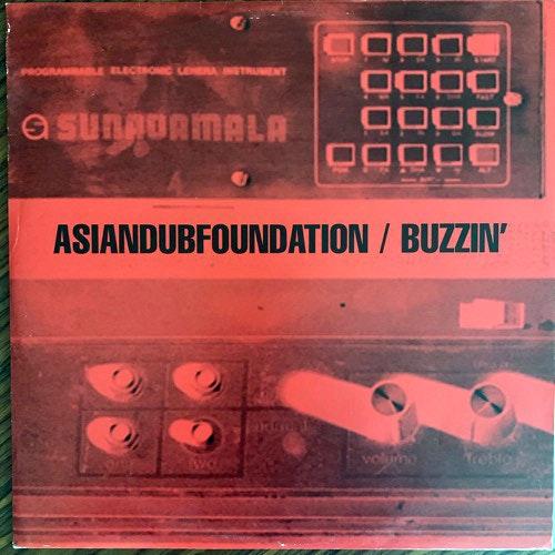 """ASIAN DUB FOUNDATION Buzzin' (FFRR - UK original) (VG+) 12"""""""