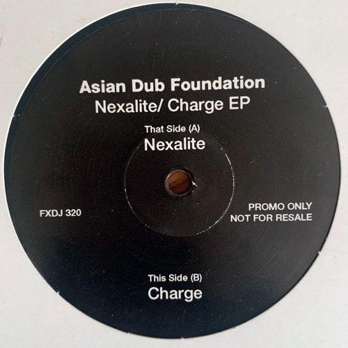"ASIAN DUB FOUNDATION Nexalite (Promo) (FFRR - UK original) (VG+) 10"""