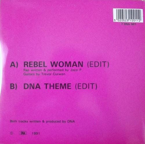 "DNA Rebel Woman (DNA - UK original) (VG+/EX) 7"""