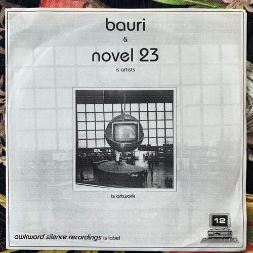 "BAURI & NOVEL 23 Untitled (Awkward Silence - UK original) (VG+/NM) 7"""