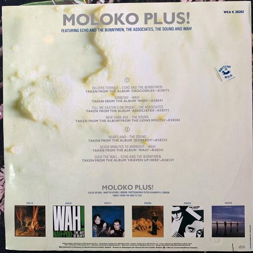 VARIOUS Moloko Plus! (WEA - Germany original) (VG+/EX) LP