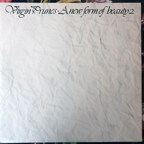 """VIRGIN PRUNES A New Form Of Beauty 2 (Rough Trade - UK original) (VG+) 10"""""""
